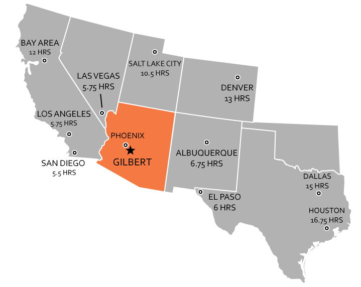 Gilbert, Arizona is a thriving city in the Southwest