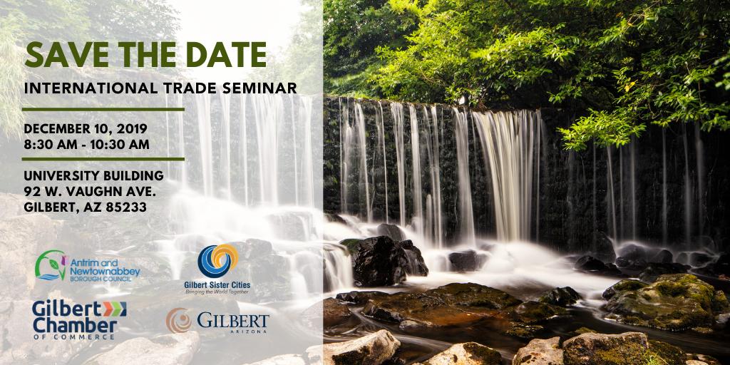 International Trade Seminar in Gilbert, AZ